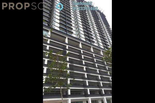 For Rent Condominium at 222 Residency, Setapak Freehold Semi Furnished 3R/2B 1.9k