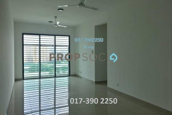 For Rent Condominium at USJ One Park, UEP Subang Jaya Freehold Semi Furnished 4R/3B 1.5k