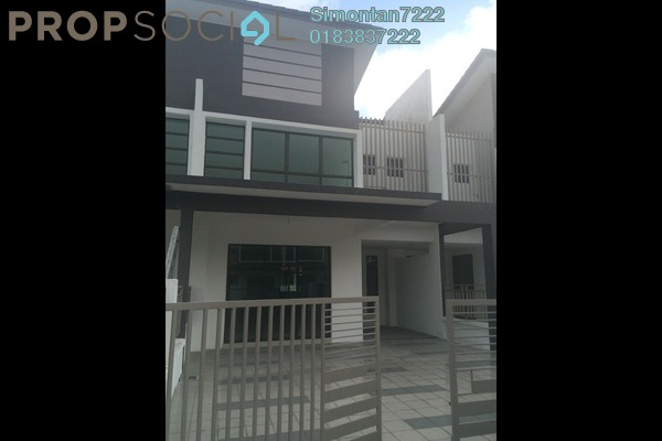 For Rent Terrace at Lakeside Residences, Puchong Leasehold Unfurnished 4R/3B 1.8k