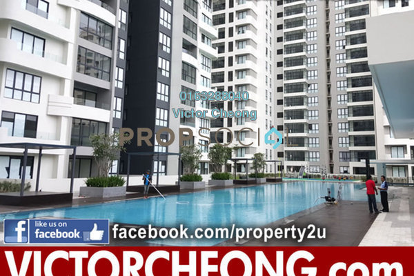 For Rent Condominium at Concerto Kiara, Dutamas Freehold Semi Furnished 3R/3B 3.2k