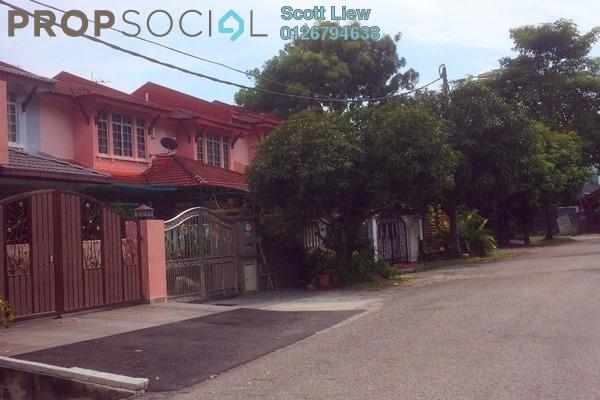For Sale Terrace at Taman Lestari Perdana, Bandar Putra Permai Freehold Semi Furnished 4R/3B 510k