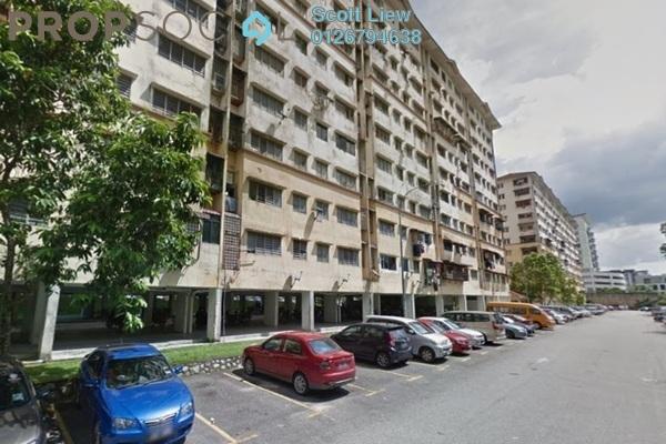 For Sale Apartment at Teratai Apartment, Bandar Mahkota Cheras Freehold Semi Furnished 3R/2B 190k