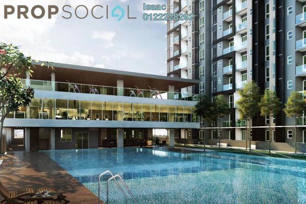 For Rent Condominium at Emerald Residence, Bandar Mahkota Cheras Freehold Unfurnished 3R/2B 1k