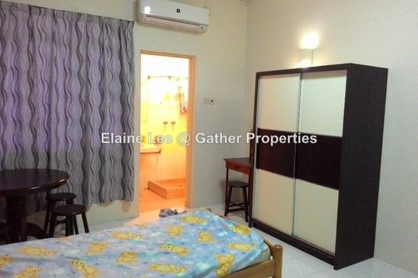 For Rent Condominium at Regency Terrace, Ipoh Leasehold Fully Furnished 3R/3B 1.4k