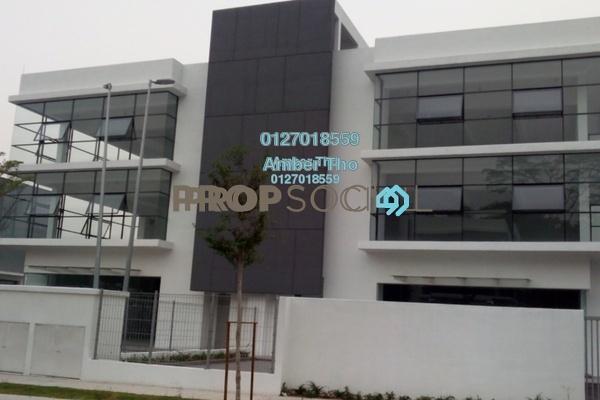 For Rent Semi-Detached at Budiman Business Park, Bandar Sungai Long Freehold Unfurnished 8R/8B 13.9k