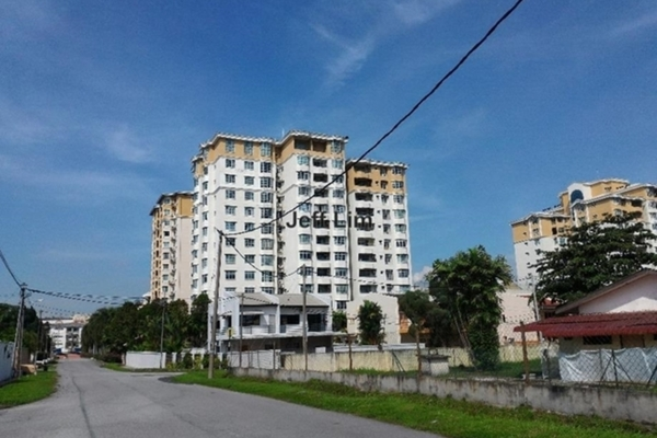 For Rent Condominium at Damaipuri Condominium, Ipoh Freehold Semi Furnished 3R/4B 2k