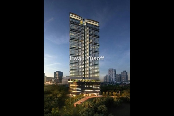 For Sale Serviced Residence at 8 Kia Peng, KLCC Leasehold Semi Furnished 1R/1B 1.32m