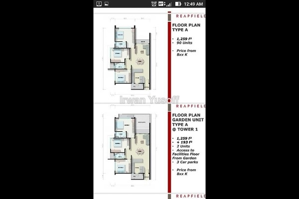 For Sale Condominium at Section 13, Shah Alam Leasehold Unfurnished 3R/2B 600k
