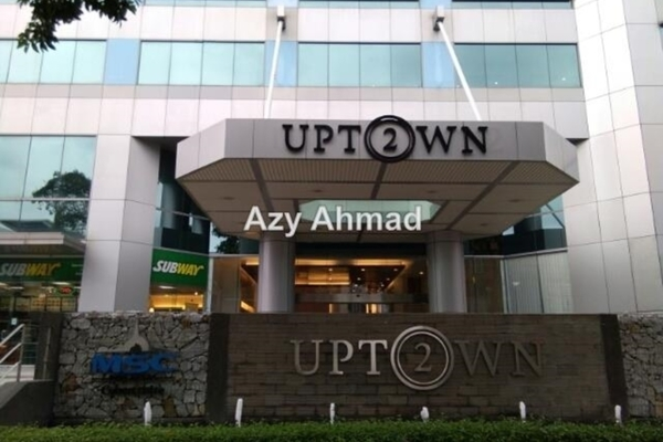 For Rent Office at Damansara Uptown, Damansara Utama Leasehold Semi Furnished 0R/0B 6.18k