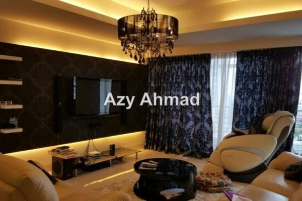 For Rent Condominium at The Plaza Condominium, TTDI Leasehold Fully Furnished 2R/3B 4k