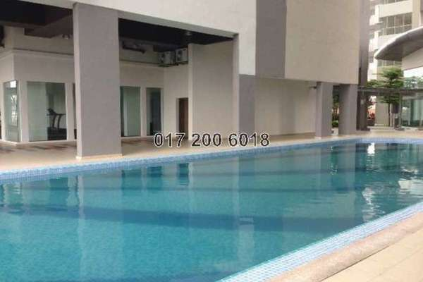 For Rent Condominium at I Residence, Kota Damansara Leasehold Semi Furnished 3R/2B 2.1k