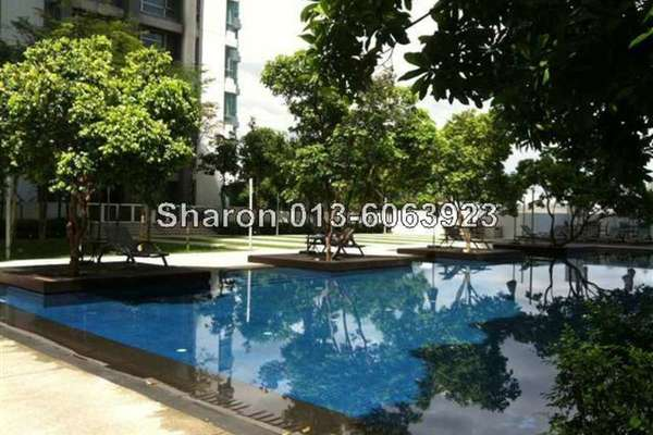 For Sale Condominium at The Saffron, Sentul Freehold Semi Furnished 3R/2B 620k