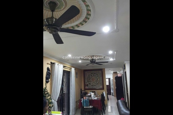 For Sale Link at Taman Wangsa Permai, Kepong Leasehold Semi Furnished 5R/3B 1.2m