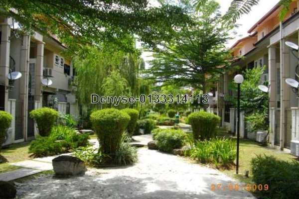 For Rent Townhouse at Parkville Garden Townhouse, Sunway Damansara Leasehold Semi Furnished 3R/3B 2.3k