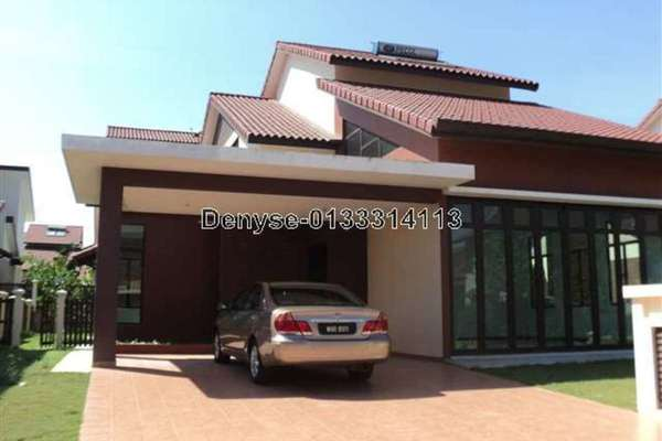 For Rent Bungalow at Setia Eco Park, Setia Alam Freehold Fully Furnished 3R/3B 4.8k
