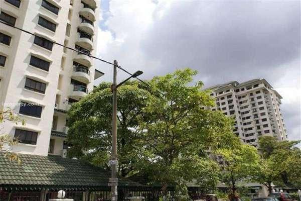 For Rent Condominium at Mutiara Oriental, Tropicana Freehold Semi Furnished 2R/2B 1.5k