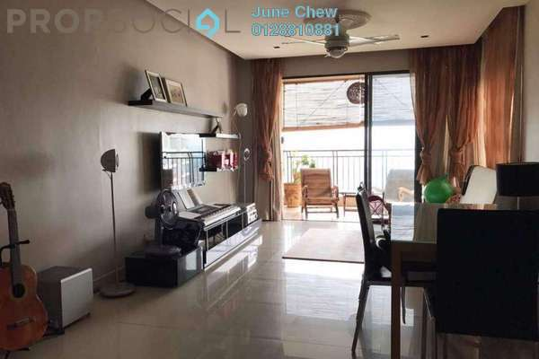 For Rent Condominium at Sri Putramas II, Dutamas Freehold Semi Furnished 3R/2B 2.1k