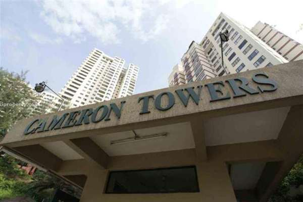 For Rent Condominium at Cameron Towers, Gasing Heights Freehold Semi Furnished 3R/2B 2.3k