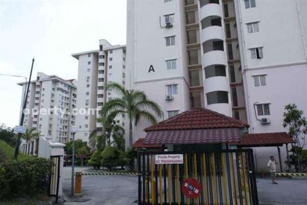 For Sale Condominium at Medan Putra Condominium, Bandar Menjalara Freehold Semi Furnished 3R/2B 510k