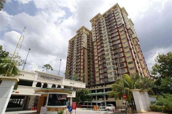 For Rent Condominium at Dataran Prima Condominium, Kelana Jaya Freehold Semi Furnished 2R/2B 1.8k