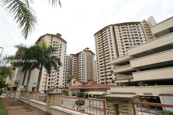 For Rent Condominium at Palm Spring, Kota Damansara Leasehold Fully Furnished 3R/2B 1.6k