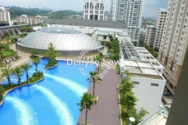 For Rent Condominium at Tropicana City Tropics, Petaling Jaya Leasehold Fully Furnished 2R/2B 2.5k