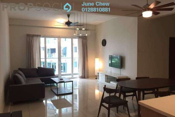For Rent Condominium at Royal Regent, Dutamas Freehold Semi Furnished 2R/2B 1.8k
