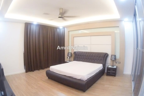 For Sale Semi-Detached at Cahaya Alam, Shah Alam Leasehold Semi Furnished 5R/5B 1.9m
