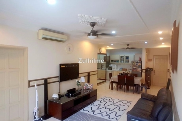 For Sale Condominium at Platinum Hill PV3, Setapak Leasehold Fully Furnished 4R/2B 530k
