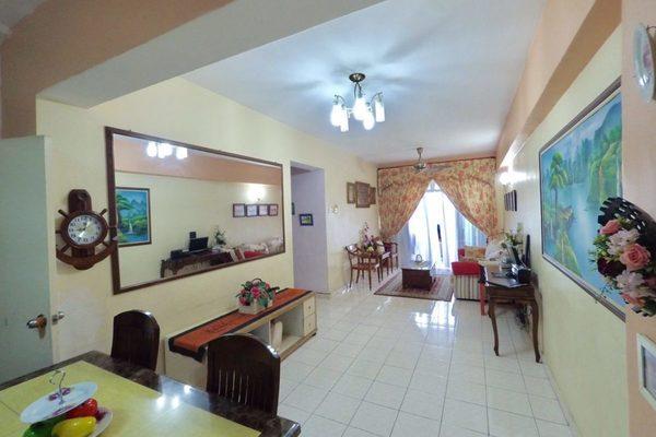 For Sale Apartment at Vista Seri Putra, Bandar Seri Putra Freehold Semi Furnished 3R/2B 310k