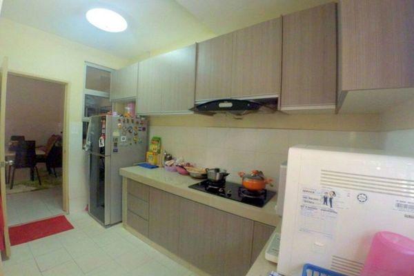 For Sale Terrace at Prima Impian, Kota Kemuning Freehold Semi Furnished 4R/3B 770k