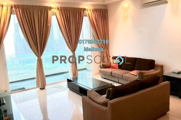 For Rent Condominium at Acacia, Bangsar South Freehold Fully Furnished 3R/3B 4.8k