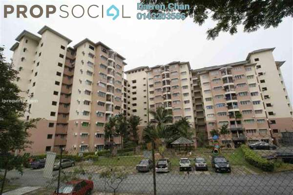For Rent Apartment at Taman Sri Bahagia, Cheras South Freehold Semi Furnished 3R/2B 950translationmissing:en.pricing.unit