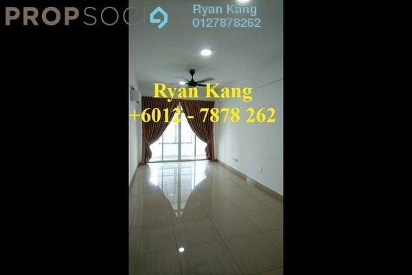 For Rent Apartment at Midori Green @ Austin Heights, Tebrau Freehold Semi Furnished 3R/2B 1.3k