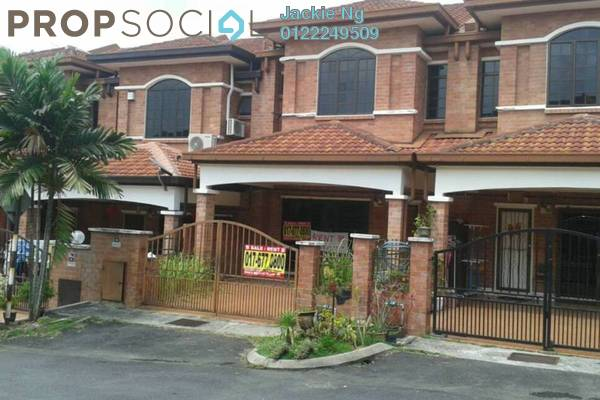 For Sale Terrace at SL4, Bandar Sungai Long Freehold Semi Furnished 4R/3B 650k