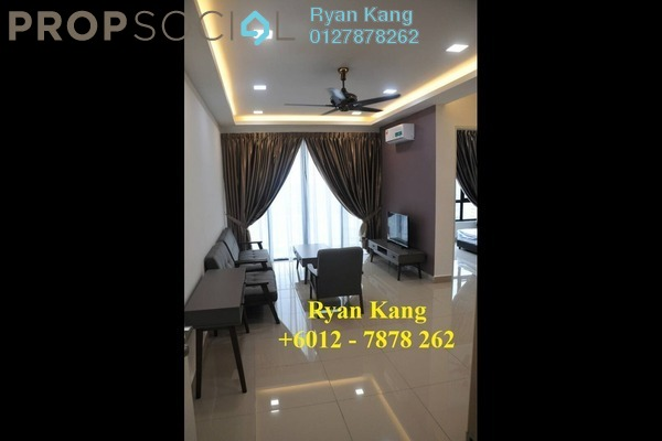 For Rent Apartment at Greenfield Regency, Skudai Freehold Fully Furnished 2R/2B 1.7k