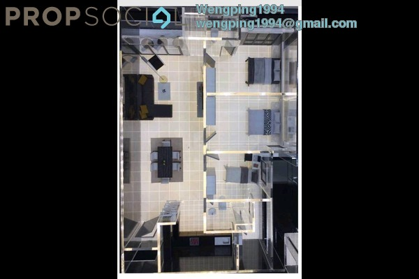 For Sale Condominium at Iris Residence, Bandar Sungai Long Freehold Unfurnished 4R/2B 487k