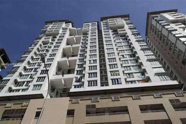 For Rent Condominium at Casa Tiara, Subang Jaya Freehold Fully Furnished 3R/2B 2k