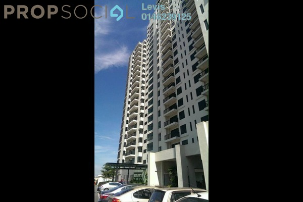 For Rent Condominium at Zefer Hill Residence, Bandar Puchong Jaya Freehold Fully Furnished 3R/4B 2k