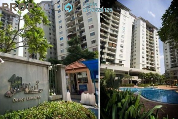 For Rent Condominium at Mentari Condominium, Bandar Sri Permaisuri Freehold Fully Furnished 3R/2B 2k