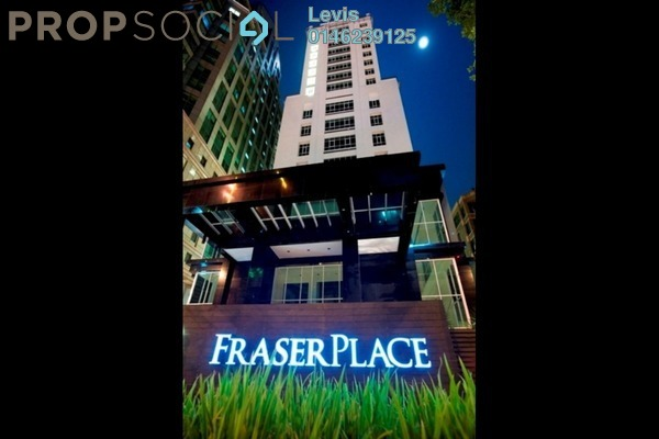 For Rent Condominium at Fraser Place, KLCC Freehold Fully Furnished 1R/1B 3.6k