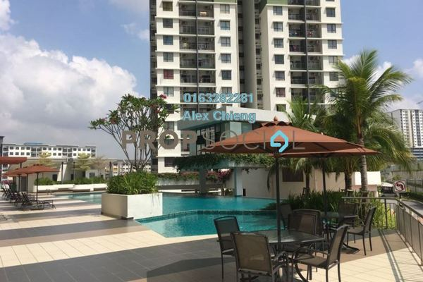 For Sale Condominium at Ivory Residence, Kajang Freehold Semi Furnished 3R/2B 390k