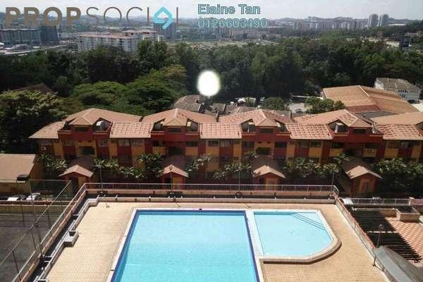For Rent Condominium at Winner Heights, Desa Petaling Freehold Semi Furnished 3R/2B 1.1k
