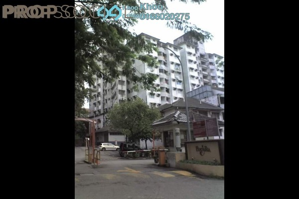 For Rent Condominium at PangsaRia, Desa Petaling Leasehold Semi Furnished 3R/2B 1.05k