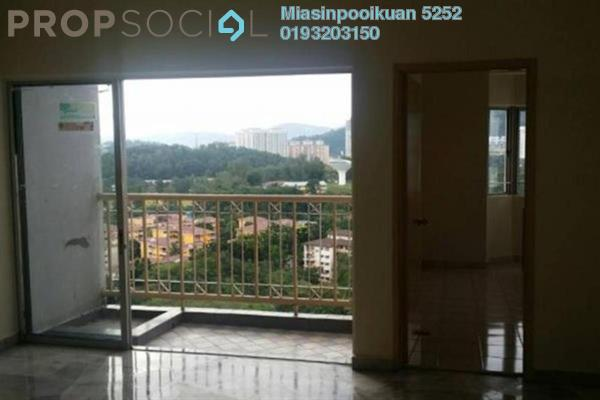 For Rent Condominium at Menara Alpha, Wangsa Maju Freehold Semi Furnished 3R/1B 1.45k