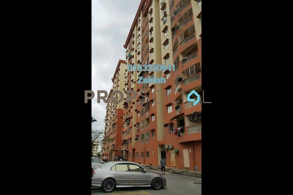 For Sale Apartment at Sri Ria Apartment, Kajang Freehold Fully Furnished 3R/2B 240k