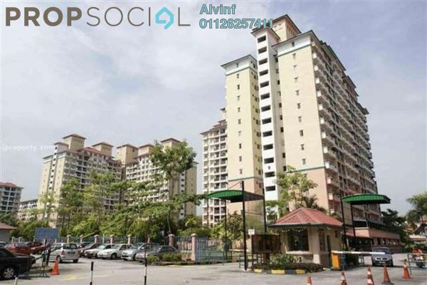 For Sale Condominium at Arena Green, Bukit Jalil Freehold Semi Furnished 2R/2B 370k