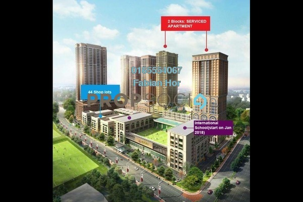For Sale Apartment at Edusentral, Setia Alam Freehold Semi Furnished 2R/2B 320k