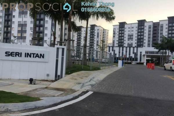 For Sale Apartment at Seri Intan Apartment, Setia Alam Freehold Semi Furnished 3R/2B 295k