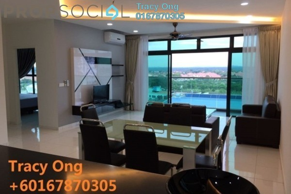 For Rent Serviced Residence at Sky Loft, Bukit Indah Freehold Fully Furnished 4R/3B 3.8k